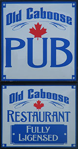 Caboose Restaurant Clearwater Bc